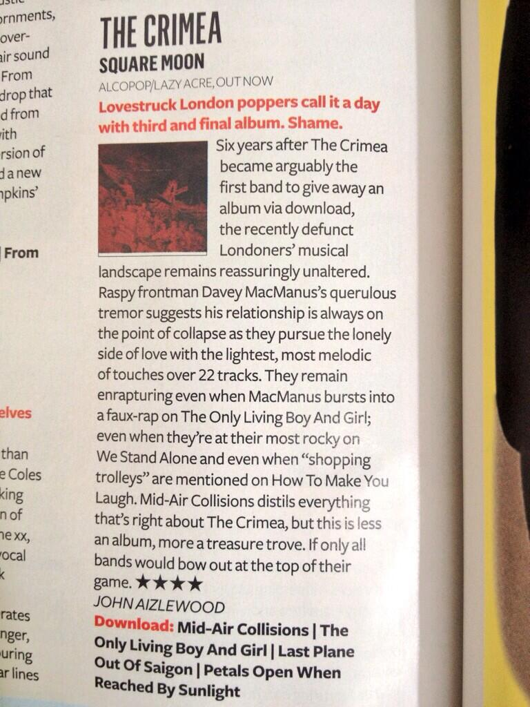 Q Mag Square Moon Review July 2013